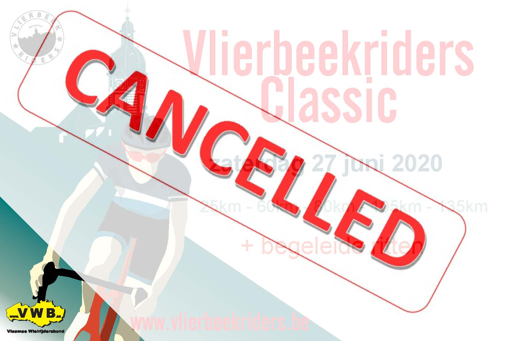 Vlierbeekriders Classic_2020_cancelled
